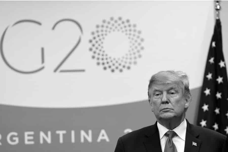 Argentina Donald Trump la-tinta