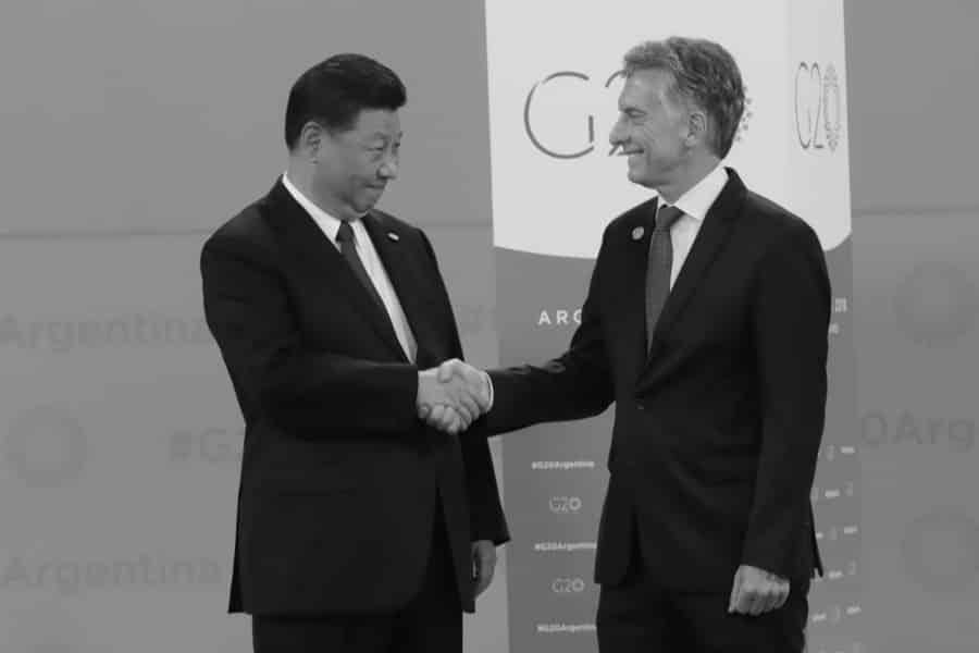 Argentina G20 Macri Xi Jinping la-tinta