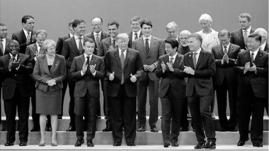 Argentina G20 foto presidentes la-tinta