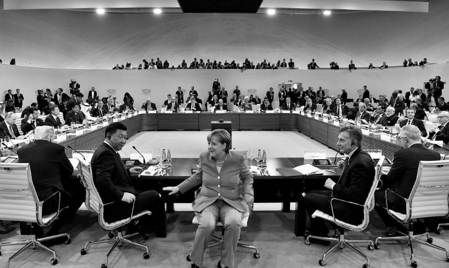 Argetnina G20 Macri Merkel la-tinta
