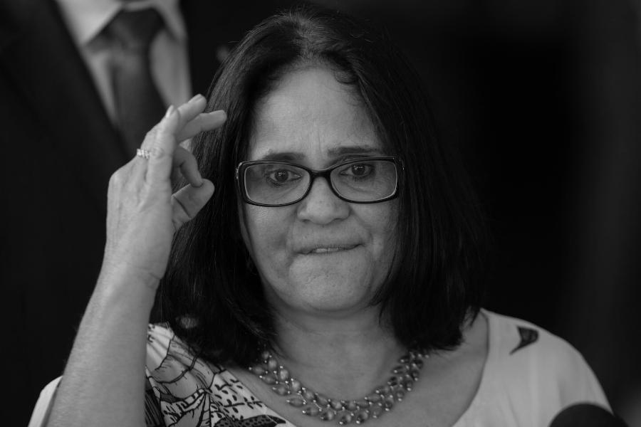 Brasil Damares Alves ministra la-tinta