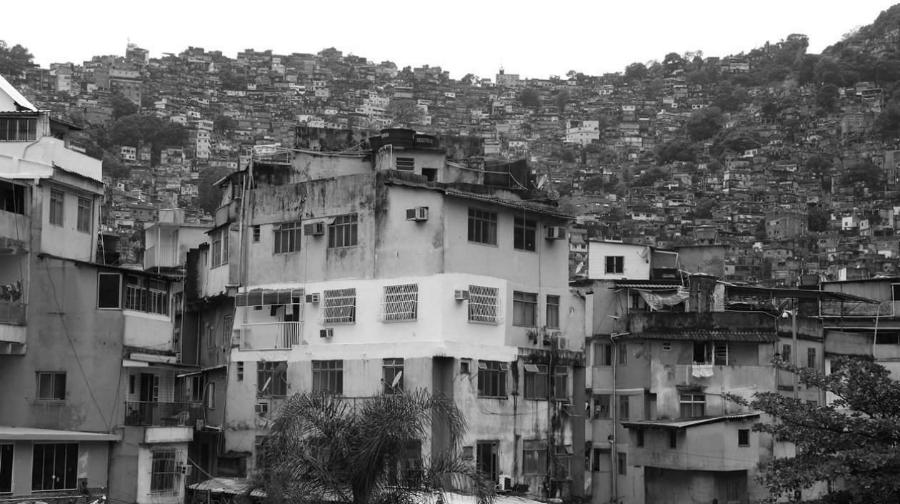 Brasil favela Rocinha la-tinta