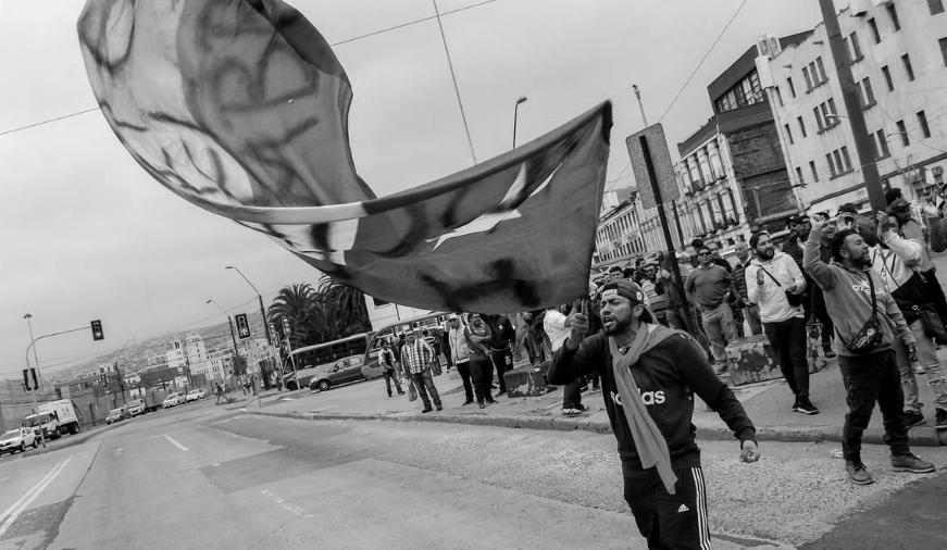 Chile movilizacion porturarios Valparaiso