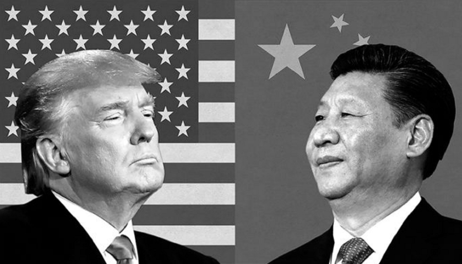 China Estados Unidos guerra comercial la-tinta