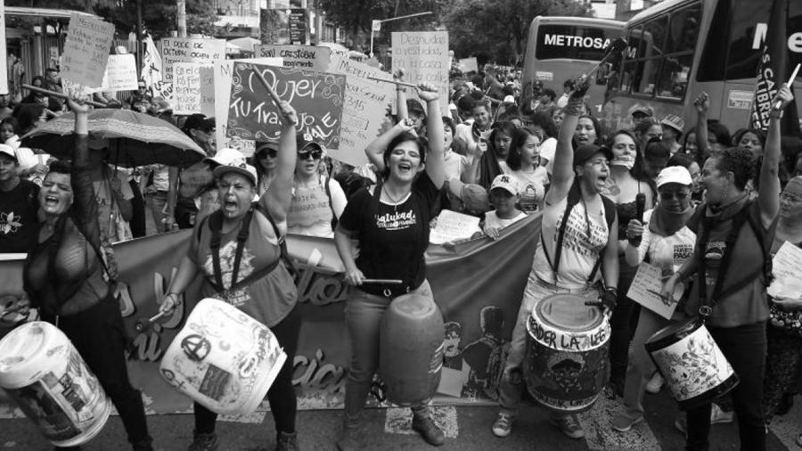 Colombia movilización mujeres la-tinta