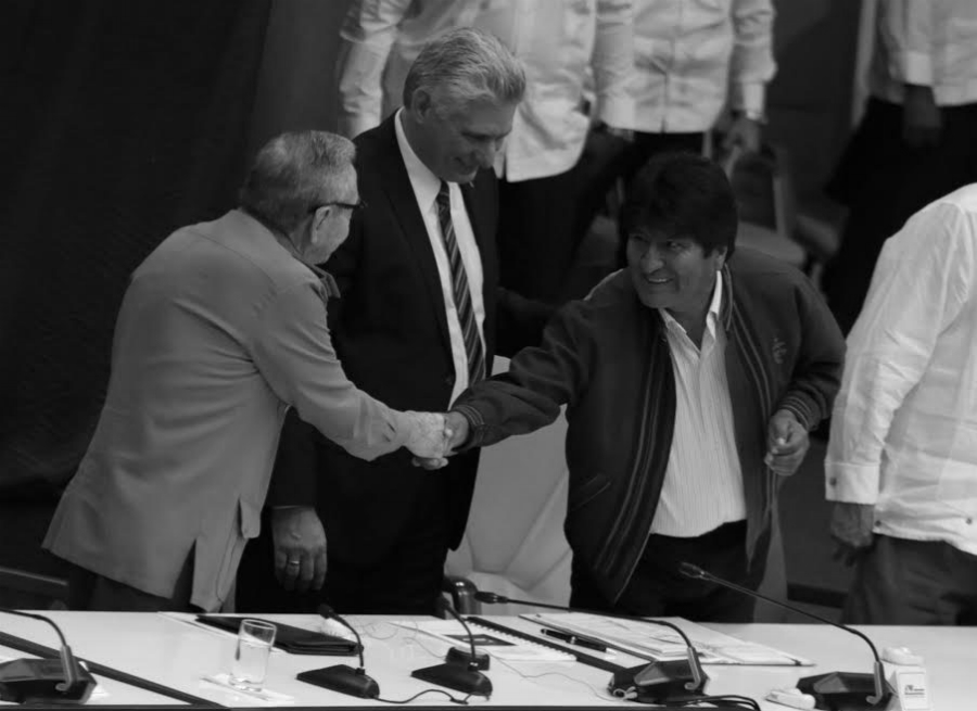 Cuba Cumbre ALBA Raul Castro Evo Morales la-tinta
