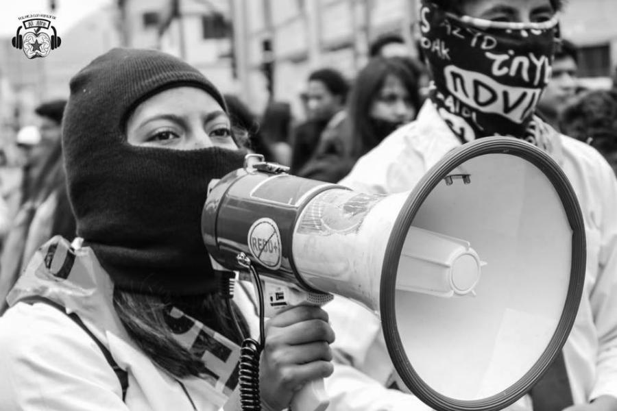 Ecuador protestas por eduacion la-tinta