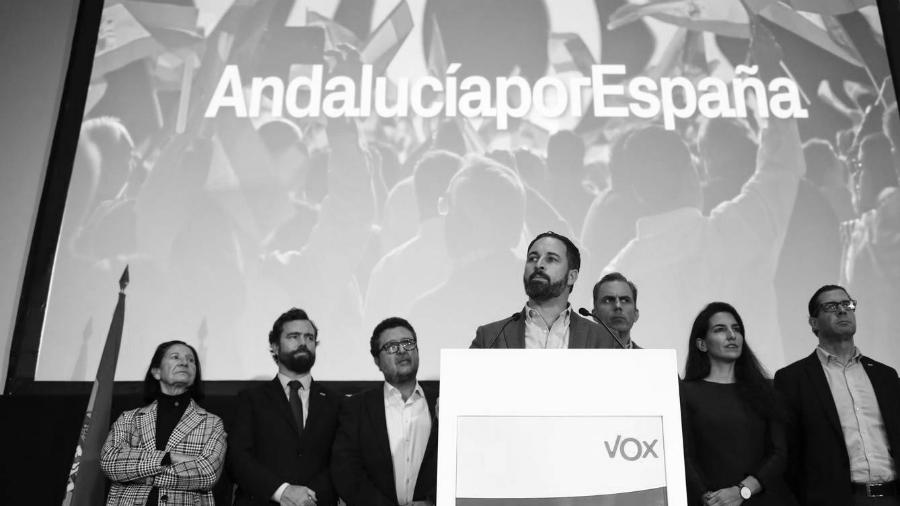 España Vox Abascal Andalucia la-tinta