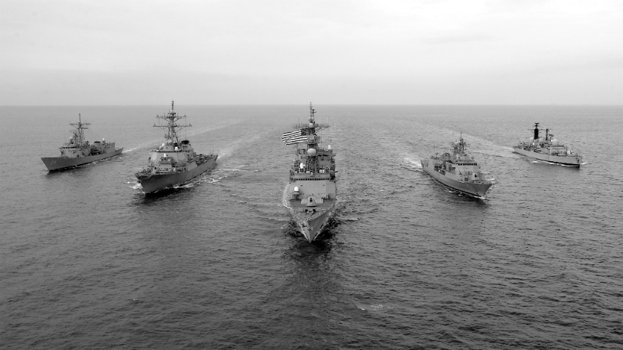 Estados Unidos Quinta Flota la-tinta