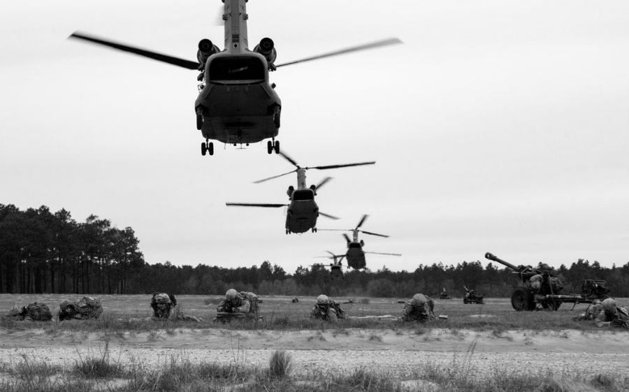 Estados Unidos ejercicios militares la-tinta