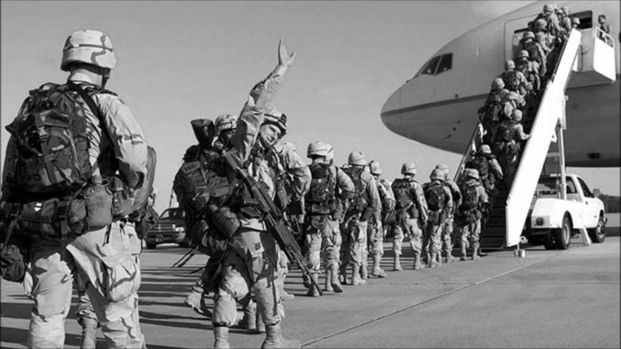 Estados Unidos guerra soldados la-tinta