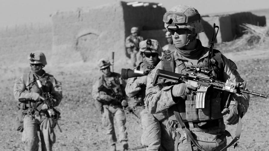 Estados Unidos marines en Afganistan la-tinta