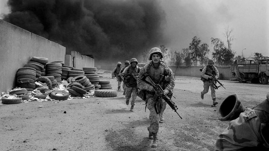 Estados Unidos soldados en Irak la-tinta