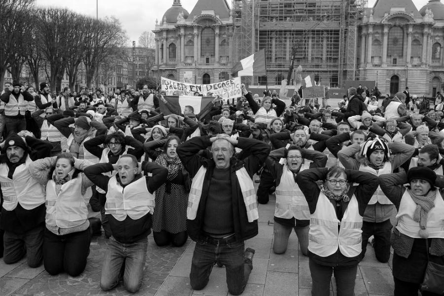 Francia chalecos amarillos protestas la-tinta