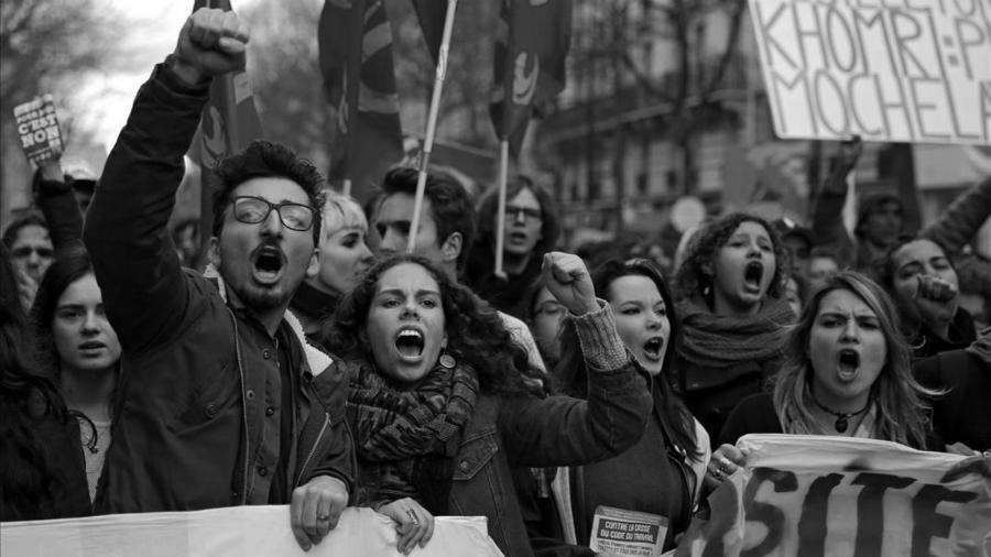 Francia huelga nacional la-tinta