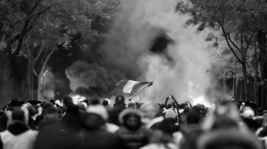 Francia manifestaciones Chalecos Amarillos la-tinta