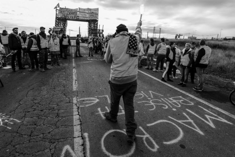 Francia protestas chalecos amarillos la-tinta