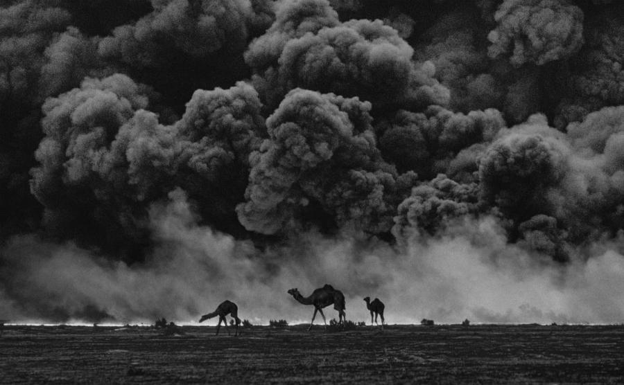 Irak Kuwait Guerra del Golfo la-tinta