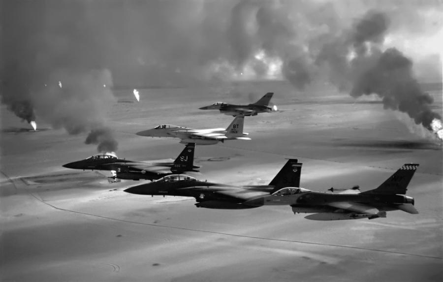 Irak Operacion Tormenta del Desierto laa-tinta