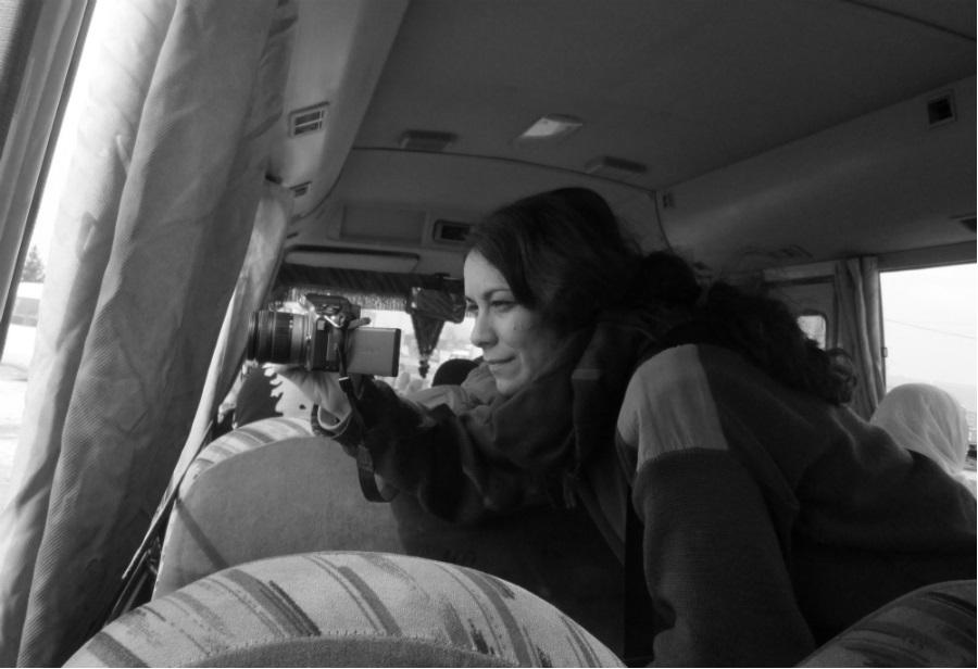 Kurdistan Sara periodista Afrin la-tinta