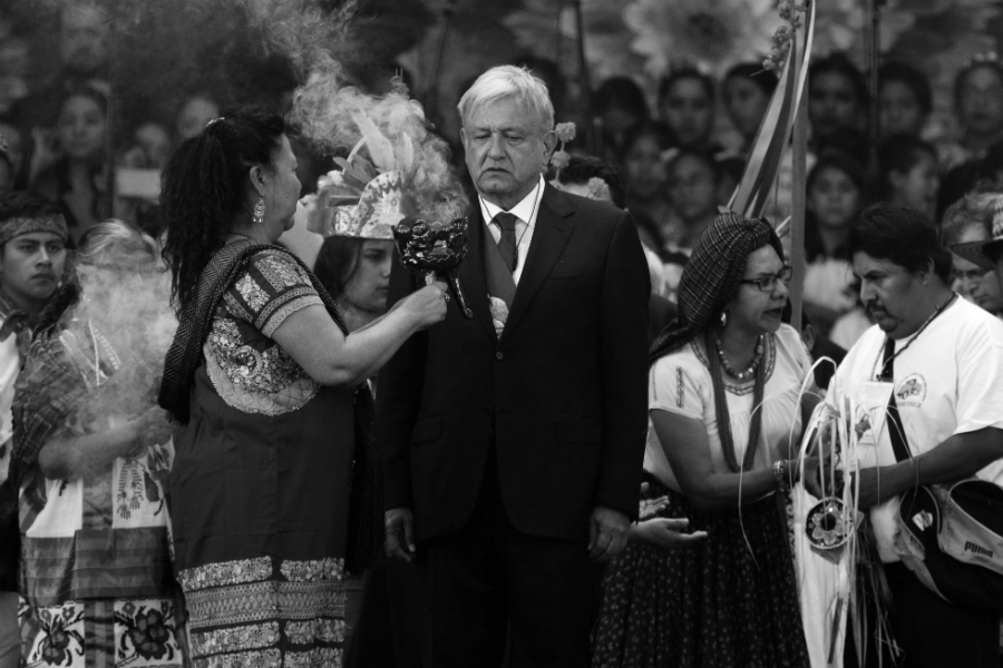Mexico Lopez Obrador indigenas la-tinta