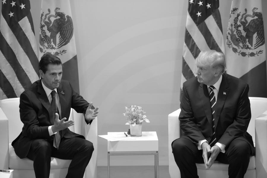 Mexico Peña Nieto Trump la-tinta