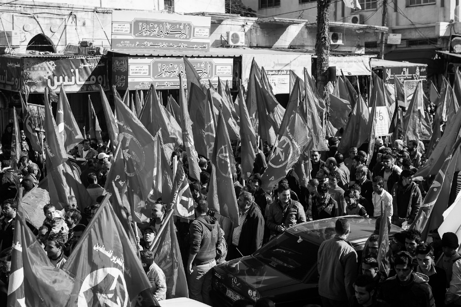 Palestina Frente Popular aniversario la-tinta