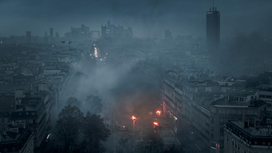 Manifestation des gilets jaunes. Paris, 1er décembre 2018.
