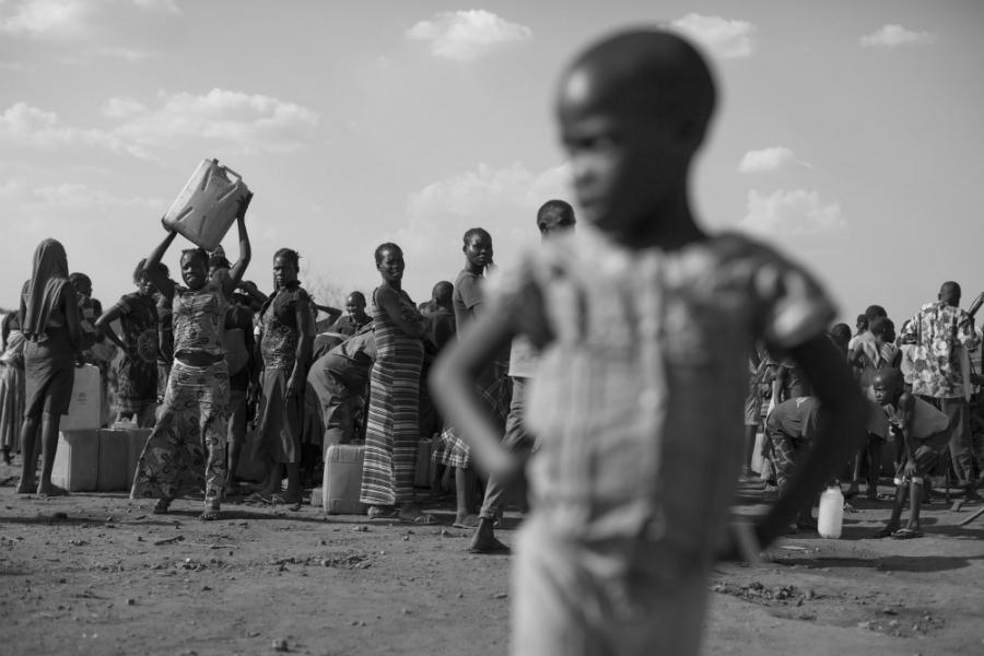 Sudan del Sur desplazados forzados la-tinta