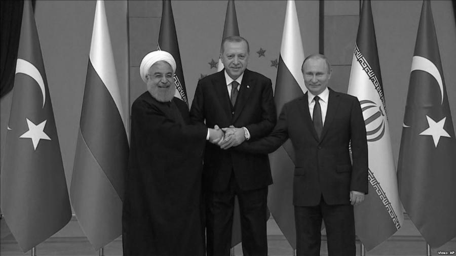 Turquia Iran Rusia presidentes la-tinta