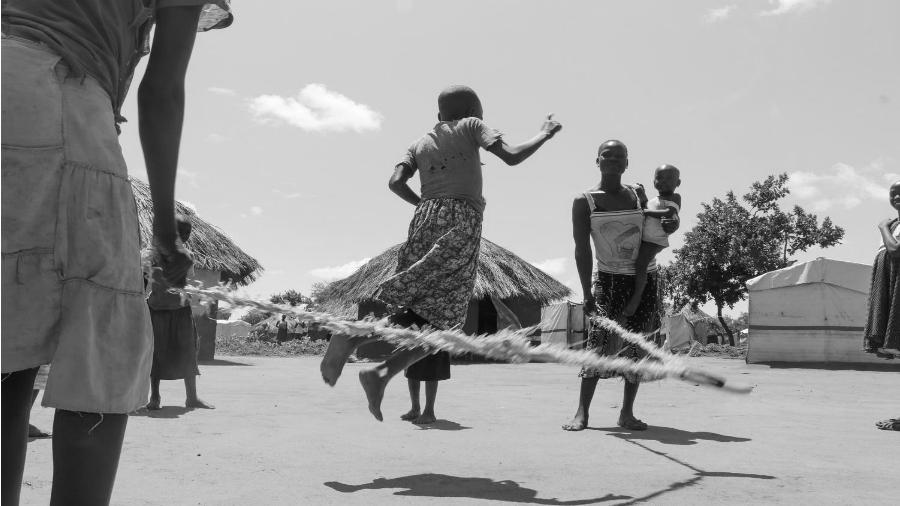 Uganda campo de refugiados de Bidibidi la-tinta