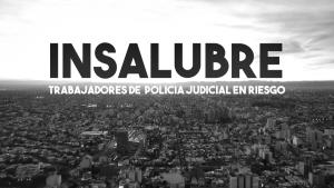Para reclamar por la insalubridad en Policía Judicial, hicieron un libro y un documental