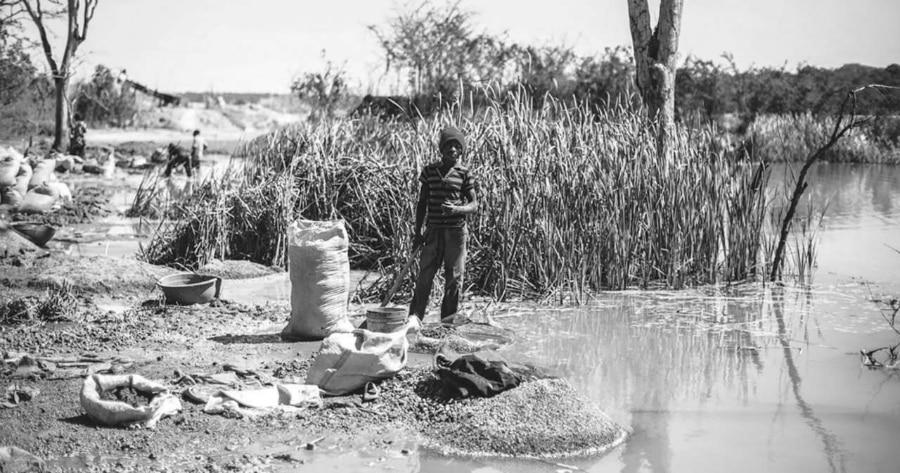 Africa extraccion de cobalto la-tinta