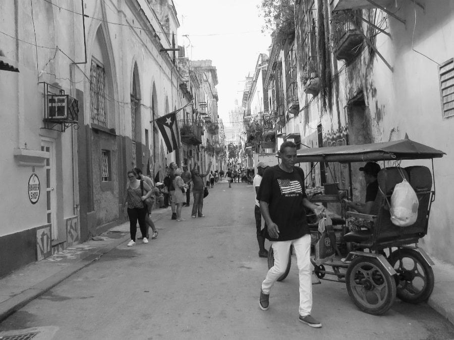 Habana Vieja Cuba la-tinta