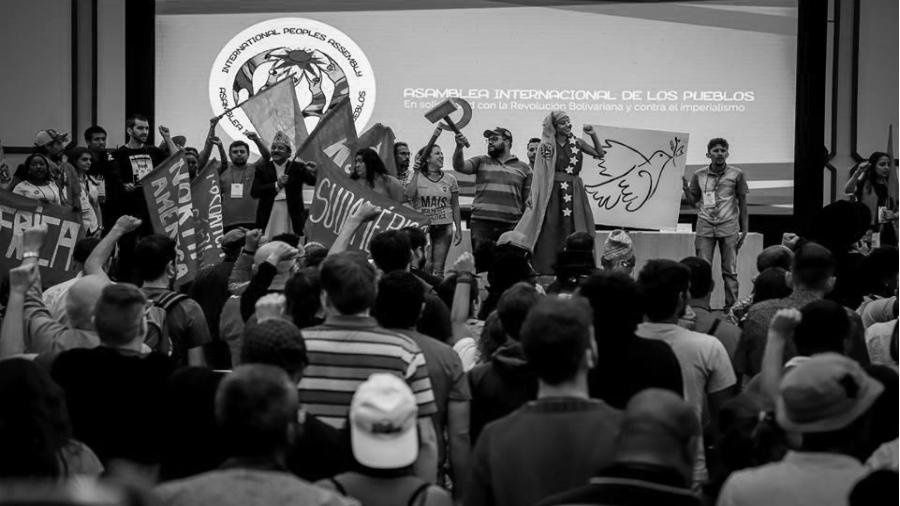 Asamblea Internacional de los Pueblos delegacion la-tinta