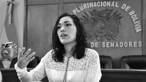 """""""Soy feminista y del partido que transformó la historia del país"""""""