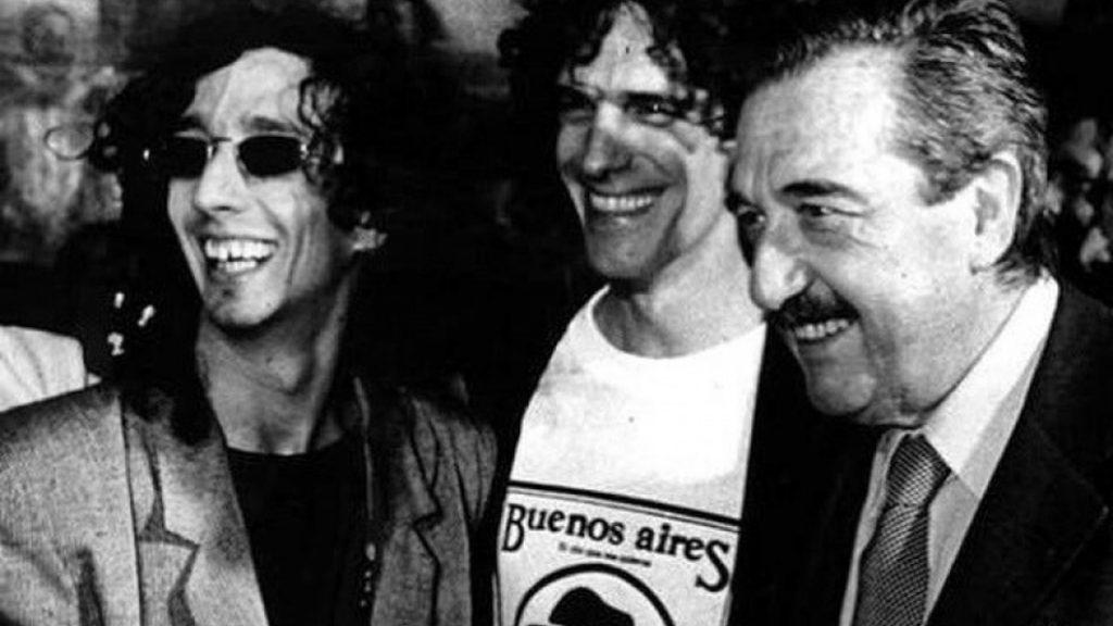 El rock, la política y una foto que resumió una época_Portada