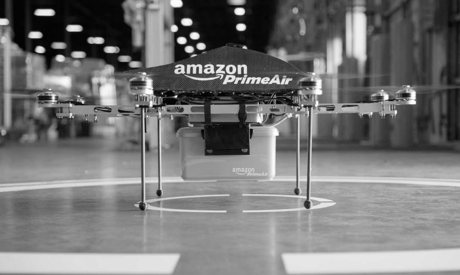 Estados Unidos Amazon drones la-tinta