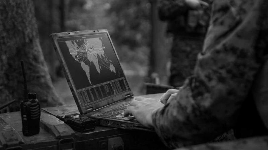 Estados Unidos soldado vigilancia la-tinta