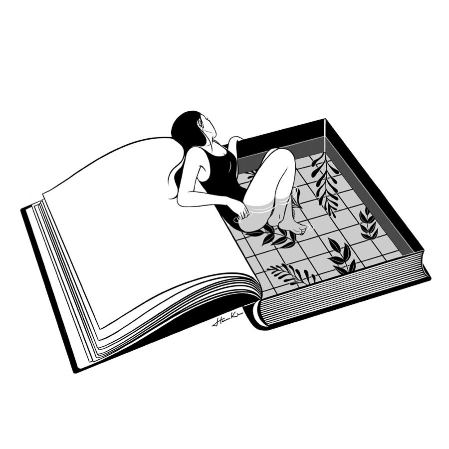 Henn-Kim-libro-mujer-ilustracion