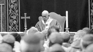 Los claroscuros de la cumbre del Papa
