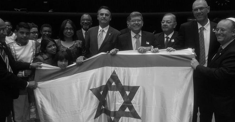Israel Bolsonaro la-tinta