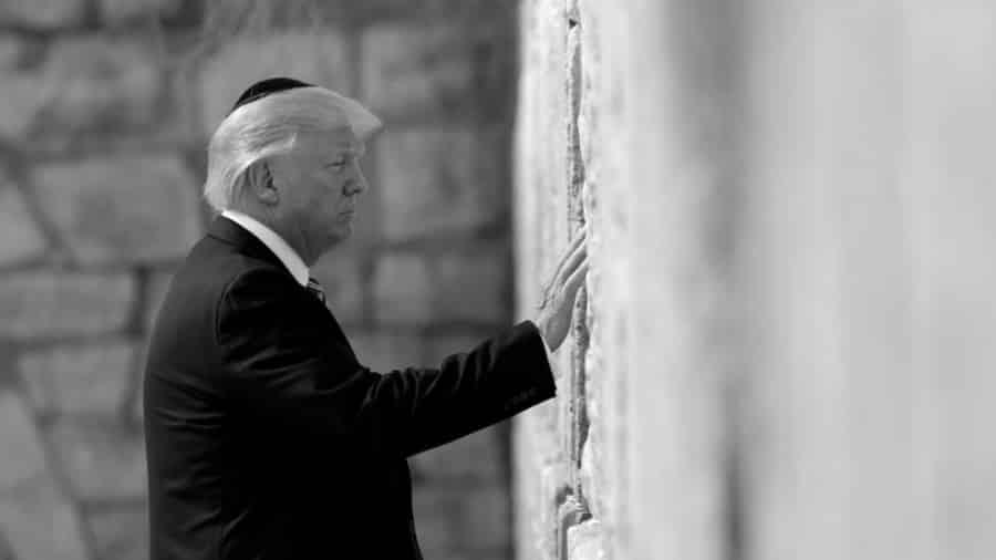 Israel Donald Trump la-tinta