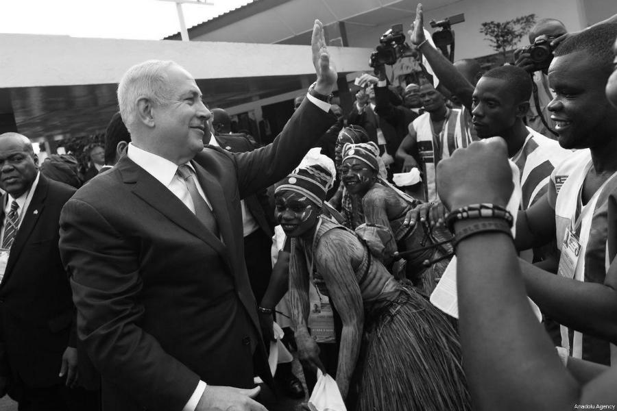 Israel Netanyahu en Africa la-tinta