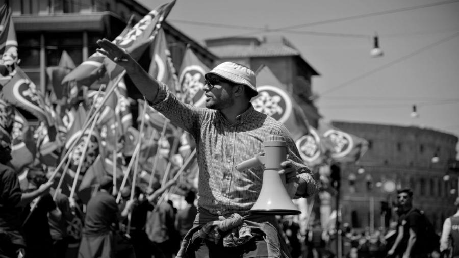 Italia neofascistas la-tinta