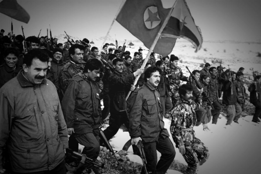 Kurdistan Abdullah Ocalan guerrilla la-tinta