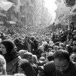 Un cementerio en el corazón de Siria
