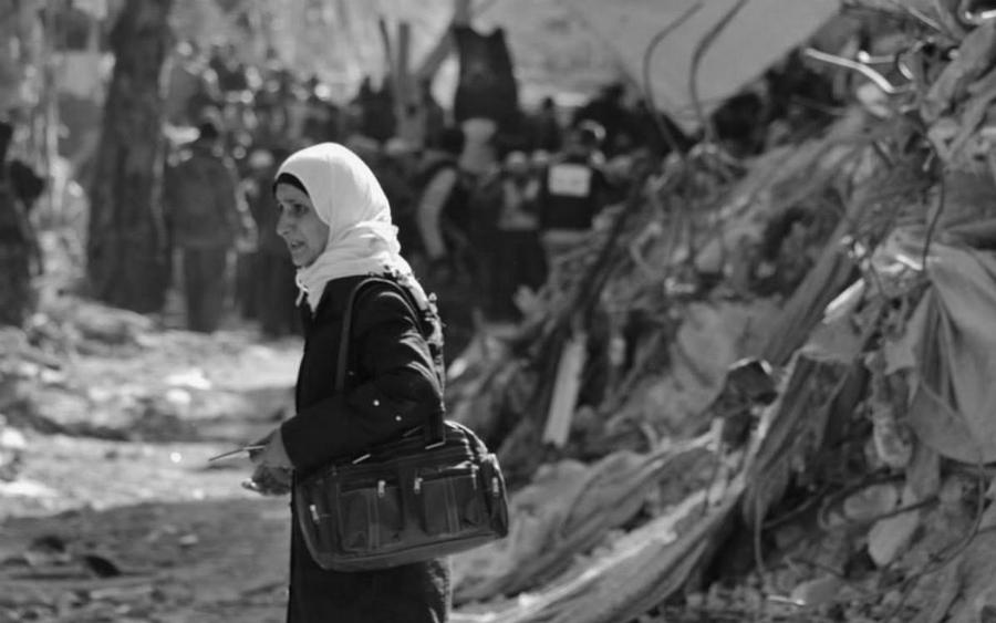 Siria refugiada palestina la-tinta