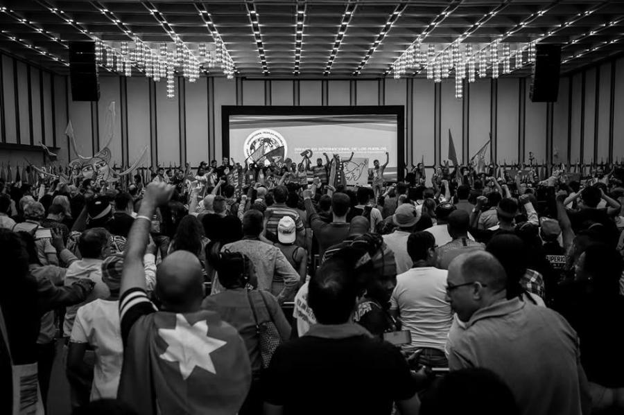 Venezuela Asamblea Internacional de los Pueblos la-tinta
