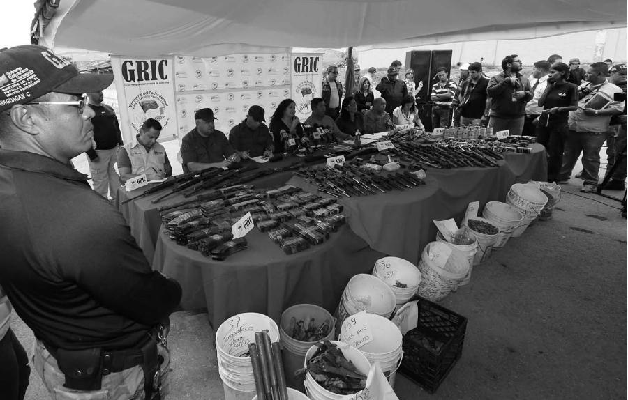 Venezuela armamento decomisado la-tinta